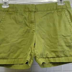 J Crew Green Weathered Broken In Chino Classic 4